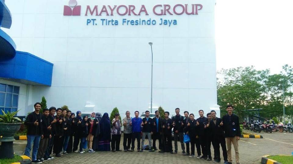Kunjungan Industri ke PT Inbisco Niagatama Semesta (Mayora)