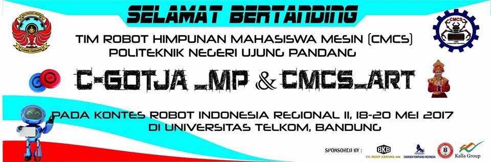 Tim Robot CMCS HMM PNUP Ikuti KRI Regional II