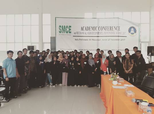 Academic Conference on Mechanical, Agrotechnology, and Control (AC-MAC) 2017
